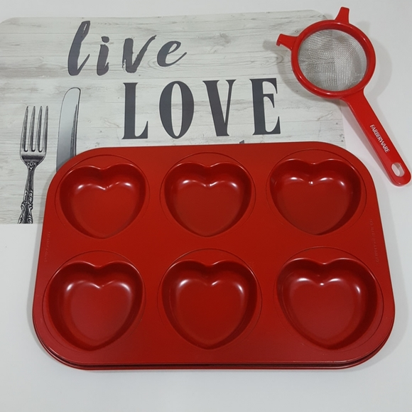 The Main Ingredients Other - The Main Ingredients Heart Shaped Muffin Pan/Mold